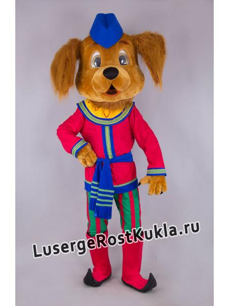 """Ростовая кукла """"Собака скоморох"""""""