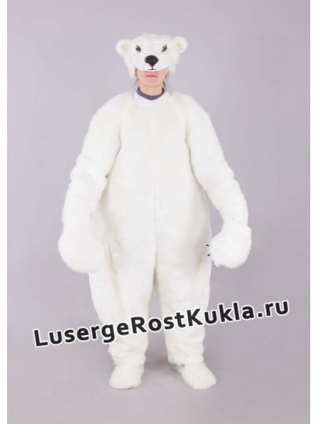 """Ростовая кукла """"Медведь белый"""" (эконом)"""