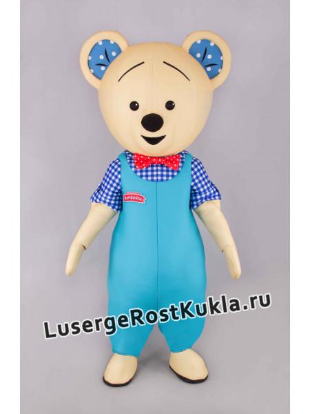 """Ростовая кукла """"Мишка в комбинезоне"""""""