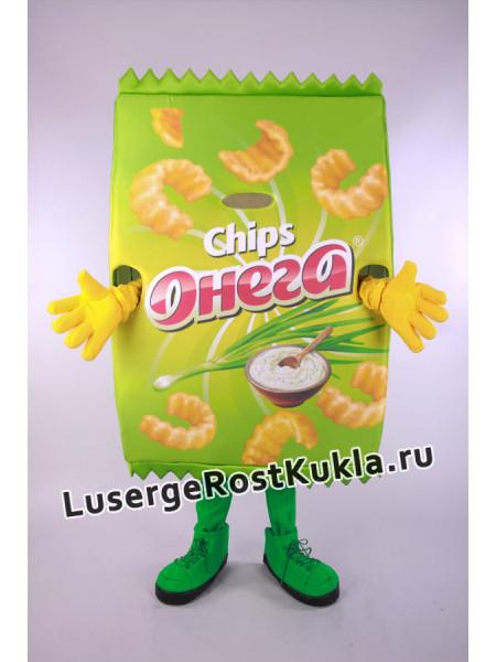 """Ростовая кукла """"Чипсы Онега"""""""