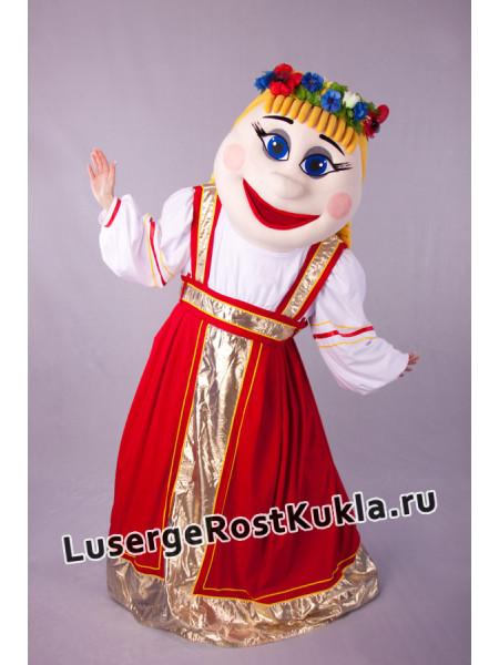 """Ростовая кукла """"Девочка Русская"""""""