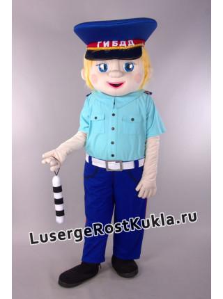 """Ростовая кукла """"Мальчик Коля ГИБДД"""""""