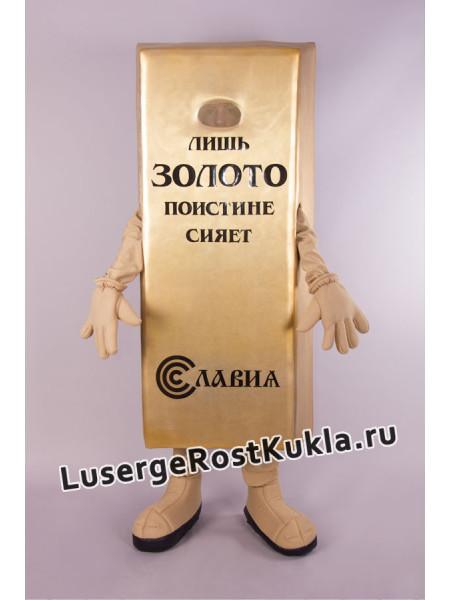"""Ростовая кукла  """"Слиток Золота"""""""